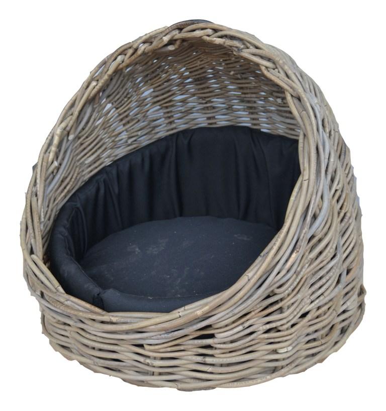 LRB13 #Kubu Rattan Dog Basket