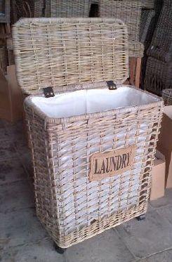 LRB8 #Laundry Rattan Basket