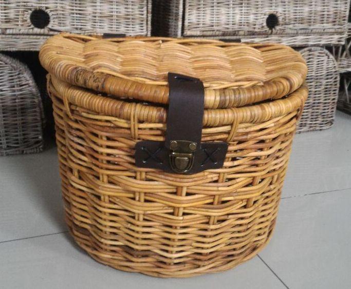 LRB3 #Bike Rattan Basket