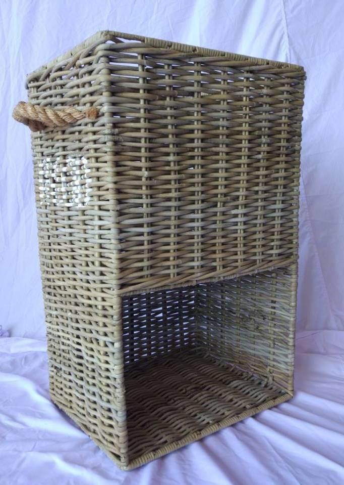 LRB29 #Kubu Rattan Log Rack Basket