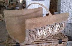 LRB6 #Log Rattan Kobo Basket