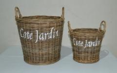 LRB9 #Planter Rattan Basket