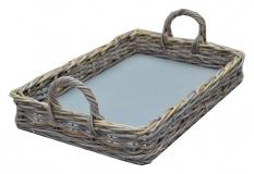 LRB18 #Kubu Rattan Tray Basket