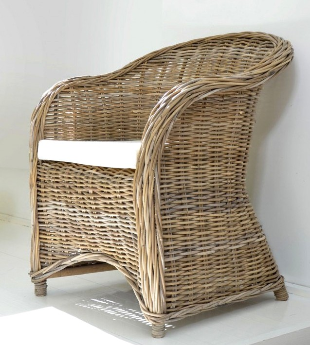 Bulat Kubu Rattan Chair