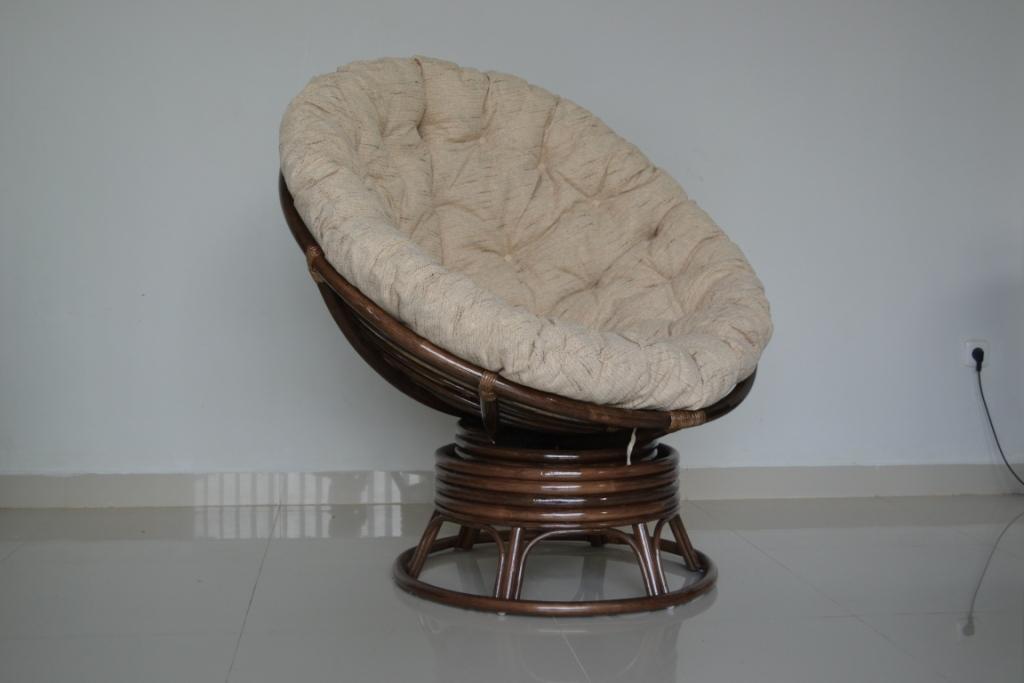 Papasan Swivel Chair