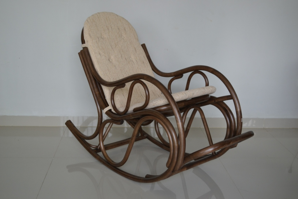 Marunda Rattan Rocking Chair