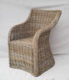 Omon Kubu Grey Rattan Chair