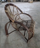 Spiral Rattan Chair