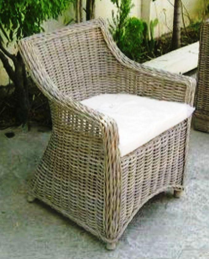 Alexa Kubu Rattan Chair