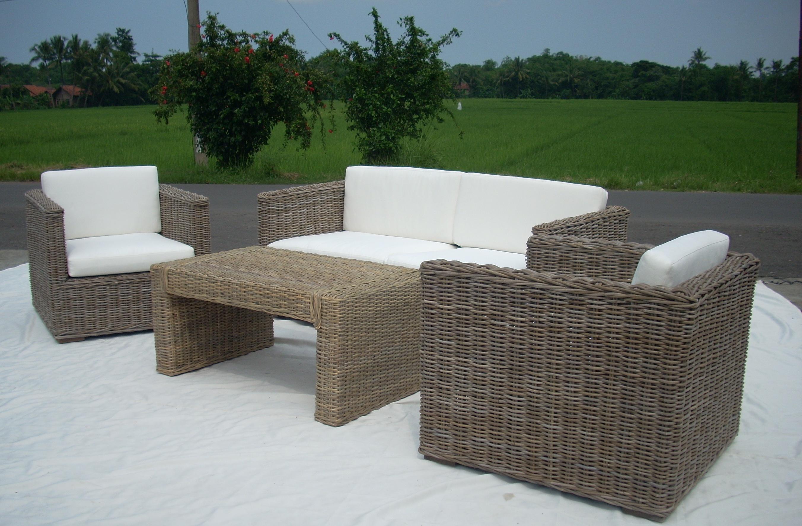 Promo Box Kobo Rattan Set. Rattan Dining   Living Set   Indonesian Rattan Furniture